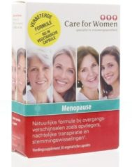 Cfw Care for Women Menopauze - 30 Capsules - Voedingssupplement