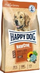 Happy Dog NaturCroq Rind & Reis (Rund en Rijst) - 15 kg