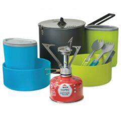 Groene MSR - PocketRocket Stove Kit - Gaskookstel grijs/groen