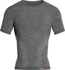 Knapman Knap'man Pro Performance Baselayer Shirt Short Sleeve Grijs Melange | Maat S