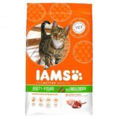 Iams Cat Adult Lam - Kattenvoer - 10 kg - Kattenvoer