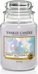 Paarse Yankee Candle Large Jar Geurkaars - Sweet Nothings