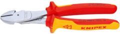 Knipex zijkniptang 7406, le 180mm, afwerking verchr, geisoleerd