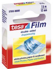 Tesa 57910 57910 Dubbelzijdige tape tesafilm Transparant (l x b) 7.5 m x 12 mm 1 rollen