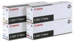Zwarte Canon CEXV-17 - Tonercartridge / Zwart