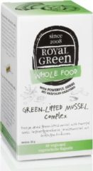Royal Green Royal groen - groen-lipped Mussel Complex (Royal groen Groenlipmossel Complex) - 60 vegicaps