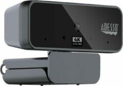 Adesso CyberTrack H6 webcam 8 MP 3880 x 2160 Pixels USB 2.0 Zwart