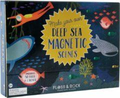 Floss & Rock Oceaan - magnetisch landschap - 22 x 30 cm - Multi