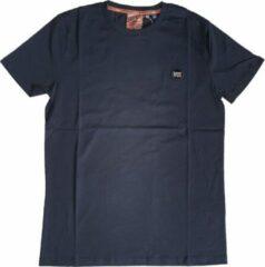 Superdry donkerblauw zacht slim fit t-shirt valt 1 maat kleiner - Maat XXL