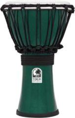 Toca TFCDJ-7MG Freestyle Colorsound Djembe Metallic groen djembé
