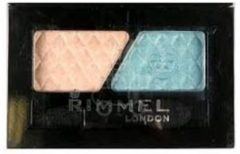 Blauwe Rimmel London Glam Eyes Duo Oogschaduw - 601 Soft Glam