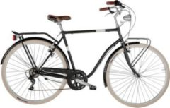 28 Zoll Herren City Fahrrad 6 Gang Alpina Viaggio... schwarz