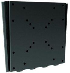 Zwarte Cavus WMU200 TV Muurbeugel - Vaste ophangbeugel voor 23 - 42 Inch max 30kg - Universele VESA TV muursteun