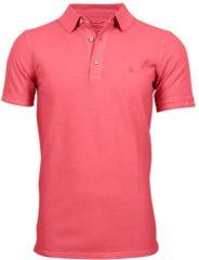 Koraalrode Ramatuelle Polo Heren - South Beach Polo donkere kleuren - Maat M - Kleur Rood / Red