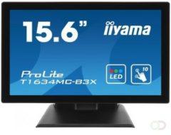 Zwarte Iiyama T1634MC-B3X - Touchscreen Monitor
