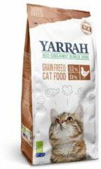 Yarrah Brokjes Bio Kat - Kattenvoer - Kip Vis 2.4 kg Graanvrij