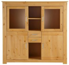 Highboard Carena Notio Living A/S Natur gebeizt