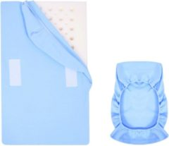 Sevi bebe Babystartup|Reflux hoeslaken blauw