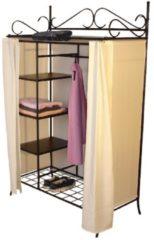 Möbel direkt online Moebel direkt online Garderobe mit Vorhang Metallgarderobe Schrank