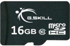 G.Skill Speicherkarte microSDHC 16 GB G.Skill Schwarz