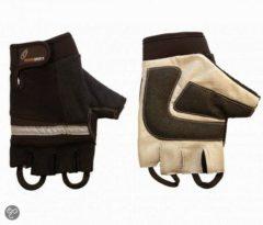 Zwarte RevaraSports Rolstoel handschoenen Zwart - Verschillende maten