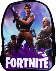 Paarse GoPa Fortnite Kinderrugzak | 18 liter | 3 characters | rugtas | Gaming