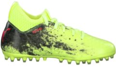 Fußballschuhe Future 18.3 MG Jr mit Spandex-Fersen-Konstruktion 104326 Puma Fizzy Yellow-Red Blast-Puma Black