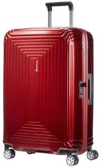Rode Samsonite Neopulse Spinner Lifestyle Spinner Reiskoffer (Medium) - 74 liter - Metallic Red