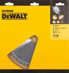 DeWalt DT4097 Cirkelzaagblad TCG 235x30mm 56T Extra fijne afwerking