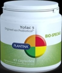 Plantina Yolac probiotica 45 Capsules