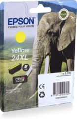 Gele Epson Elephant Singlepack Yellow 24XL Claria Photo HD Ink
