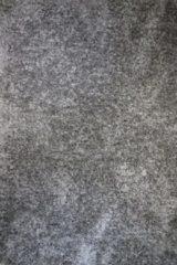 Antraciet-grijze Merinos/karpet24.nl Floki - Hoogpolig Vloerkleed - Antraciet - 120 x 160 cm