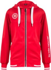 The Indian Maharadja Indian Maharadja Kids Tech Hooded FZ Sweater - Jassen - rood - 128