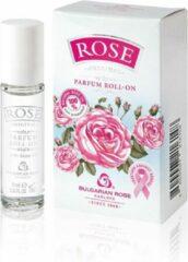 Bulgarian roos Karlovo Parfumolie met natuurlijke rozenolie uit Bulgarije, langdurige parfum, originele geur van roos roll-on 9ml
