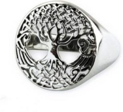 Etnox Tree of life Zilveren Ring maat 58