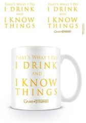 Witte Game Of Thrones Drink & Know Things - Mok