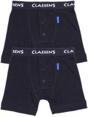 Claesen boxershort set van 2 donkerblauw