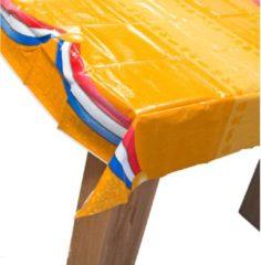 Folat Oranje Tafelkleed met Nederlanse Vlag 180x130cm