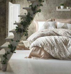Cotton Box - Ranforce Tamara Beige - Dekbedovertrekset (100% Katoen) -200X220 CM