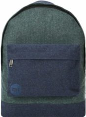 Mi pac. Rucksack mit Laptopfach, »Heavyweight Premium Herringbone Mix, green/navy«