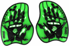 Groene Arena Vortex Evolution Hand Paddle acid-lime/black M MAAT