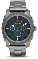 Fossil FS4931 Horloge Machine staal smoke-black 45 mm