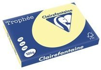 Clairefontaine Trophée Pastel A3, 120 g, 250 vel, geel
