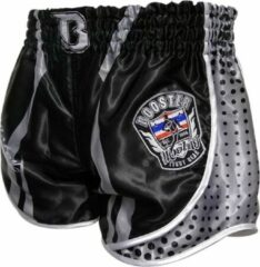 Zilveren Booster fight gear Booster Muay Thai Short Ad Oxford Corpus Kickboks Broek S = maat 29/30 | 50-60kg