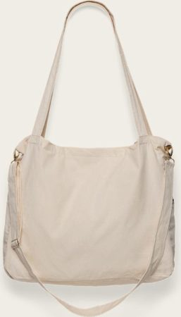Afbeelding van Creme witte Omaybags Omay Mommy Bag Raw Cotton