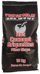 Vuur & Rook Vuur&Rook Hot Coconut Briketten Pillow Shape 10 kg