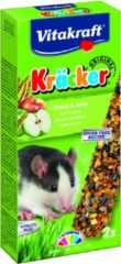 Vitakraft Rattenkracker - 2 In 1 Cornflakes en Fruit - Rattensnack