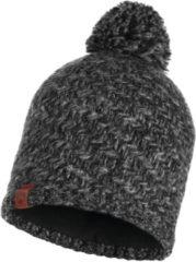 Donkergrijze Buff Knitted Polar Muts (Sport) - Vrouwen - donker grijs