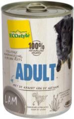 Ecostyle Blik Vitaal Vlees Adult - Hondenvoer - Lam 400 g