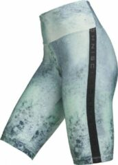 Röhnisch Sportbroek Bike Tights Dames Polyester Groen Mt Xs